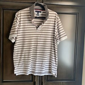 Striped slim fit Tommy Hilfiger Polo top